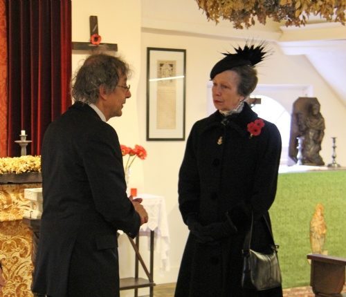 IMG_6113 - Princess Anne and Jan Louagie in the Chapel