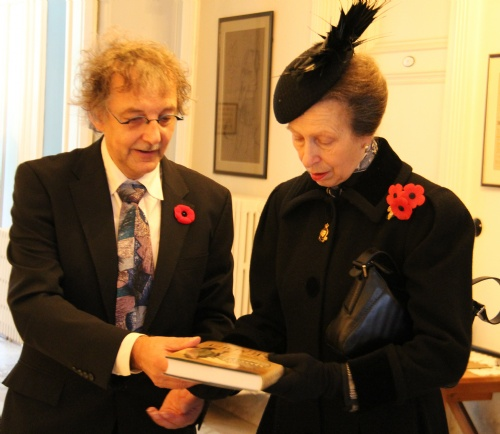 IMG_6354 - Princess Anne being presented with Jan Louagies book 1