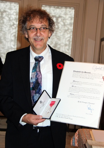 IMG_6415 - Jan Louagie with MBE medal and certificate 2